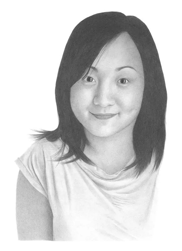 Mrs_Wong_Pencil_Portrait_Tamsin_Dearing_Copyright_2011