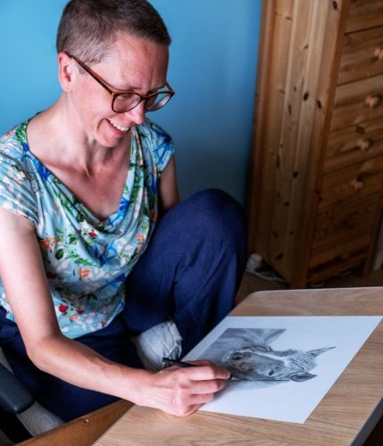 Tamsin_Dearing_Drawing_Graphite_Horse_Studio